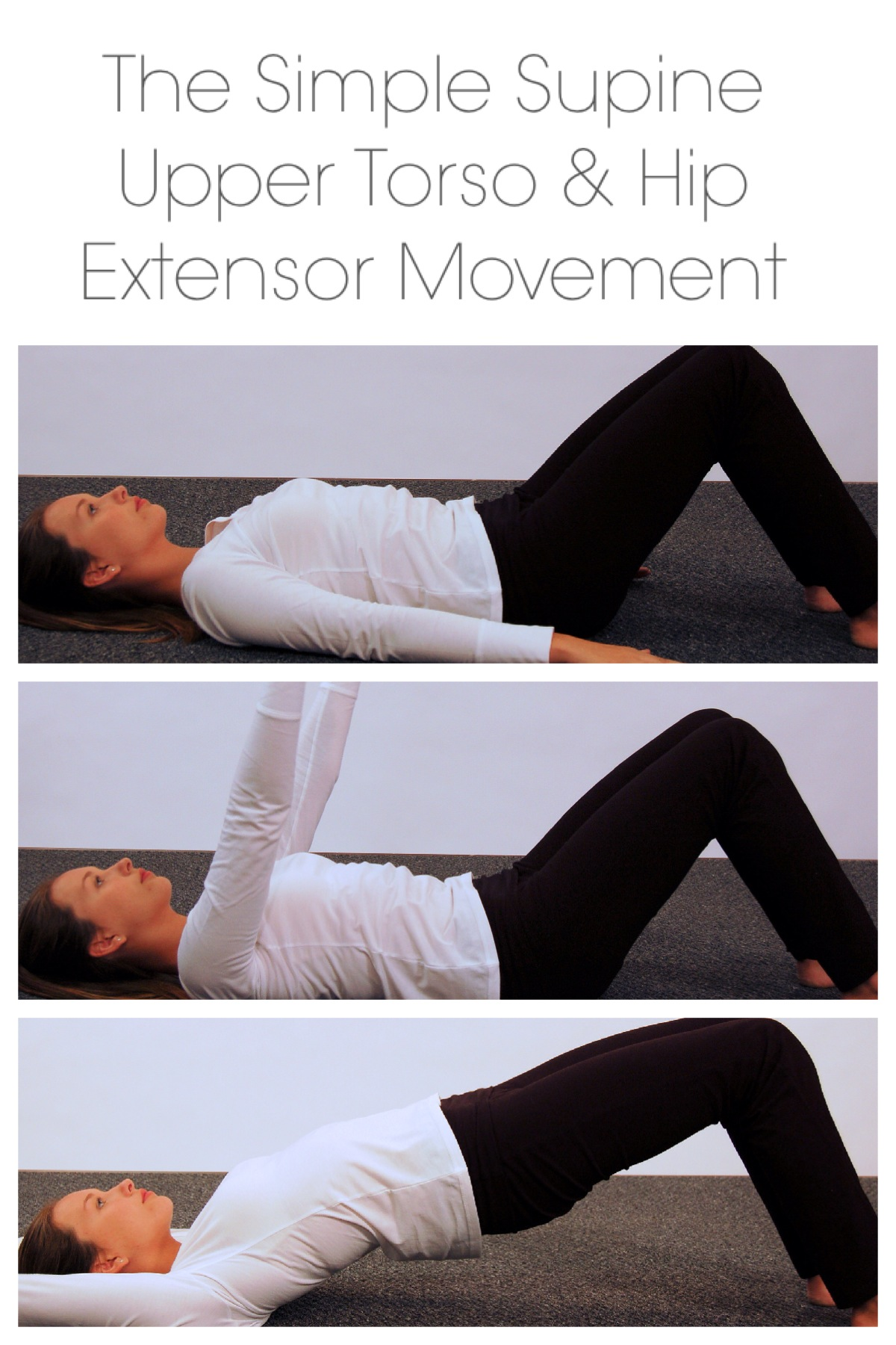 Simple Supine Upper Torso and Hip